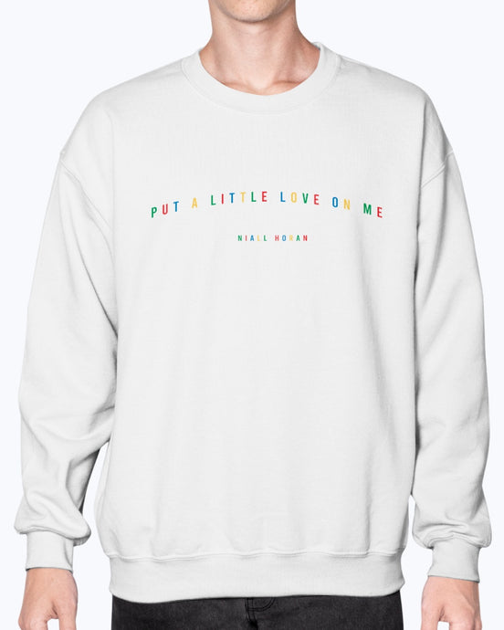 Primary Colors Put a Little Love Sweatshirt