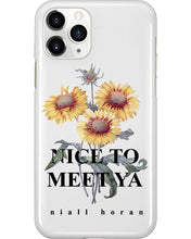Load image into Gallery viewer, Nice To Meet Ya Sunflower Phone Case