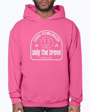 Load image into Gallery viewer, Only the Brave Hoodie