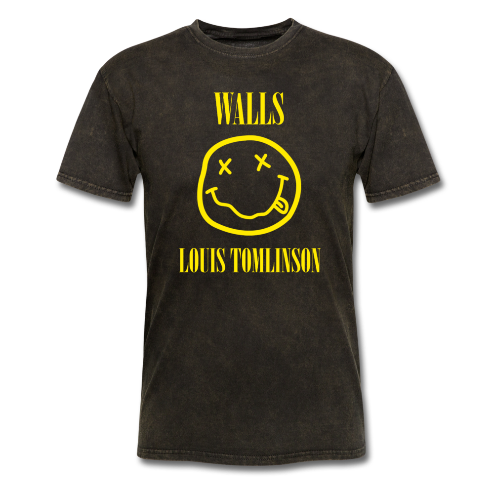 Walls Nirvana T-shirt - mineral black
