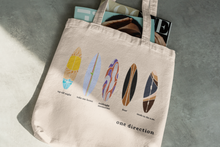 Load image into Gallery viewer, 1D Surfboard Canvas Tote