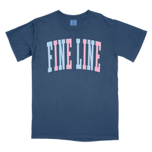 Load image into Gallery viewer, Fine Line Collegiate Comfort Colors T-Shirt