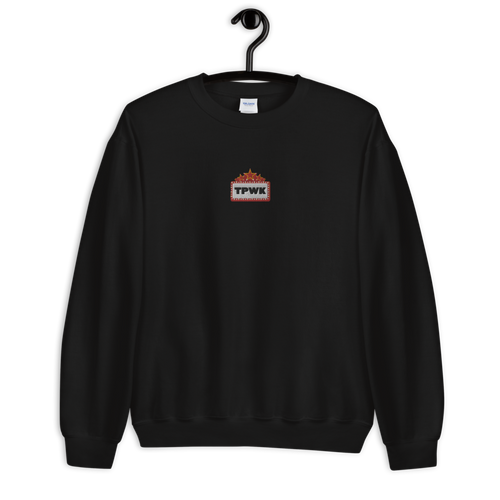 TPWK Marquee Embroidered Sweatshirt