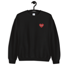 Load image into Gallery viewer, Payne Embroidered Heart Sweatshirt