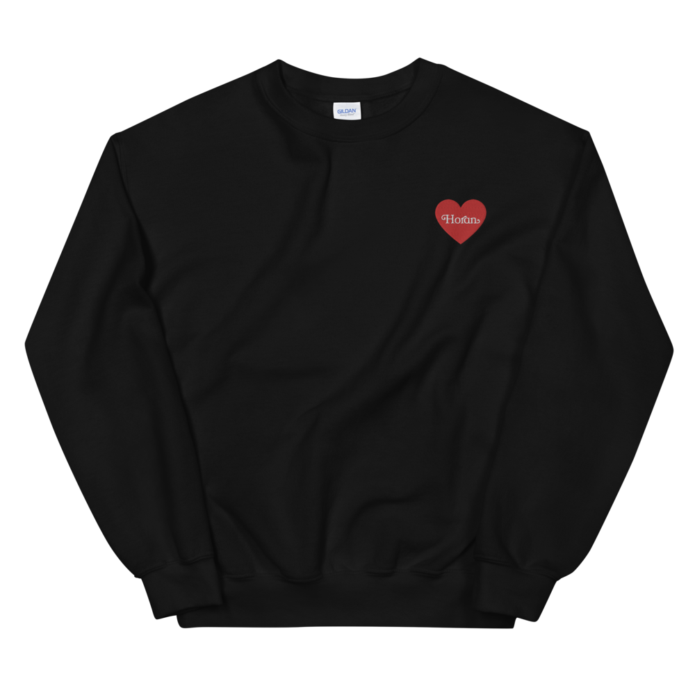 Horan Embroidered Heart Sweatshirt