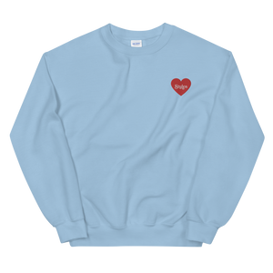 Styles Embroidered Heart Sweatshirt