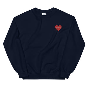 Tomlinson Embroidered Heart Sweatshirt