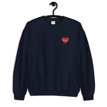 Load image into Gallery viewer, Styles Embroidered Heart Sweatshirt