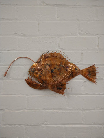 Anglerfish sculpture