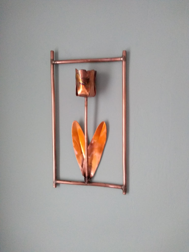 Copper tulip