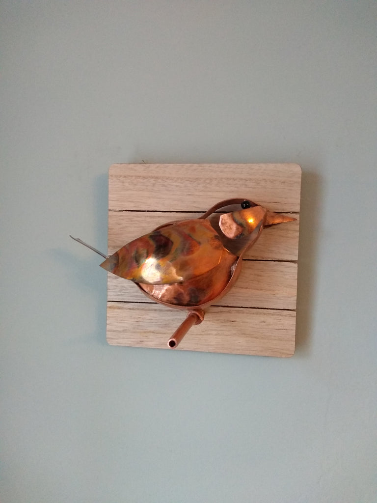 Copper bird - Deshca Designs