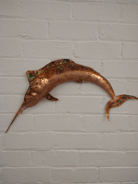 Marlin sculpture