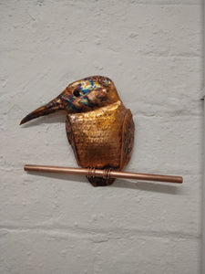 Kingfisher wall sculpture