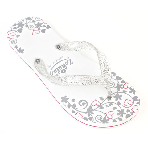"Zohula ""Just Married"" Flip Flops"