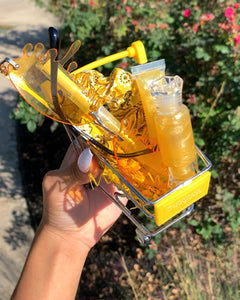 Yellow Candy Cart
