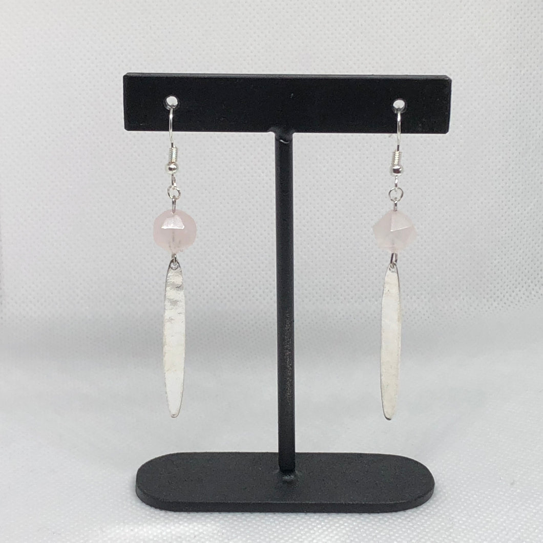 Stellar - Rose Quartz - Earrings