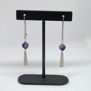 Imagine - Amethyst Earrings