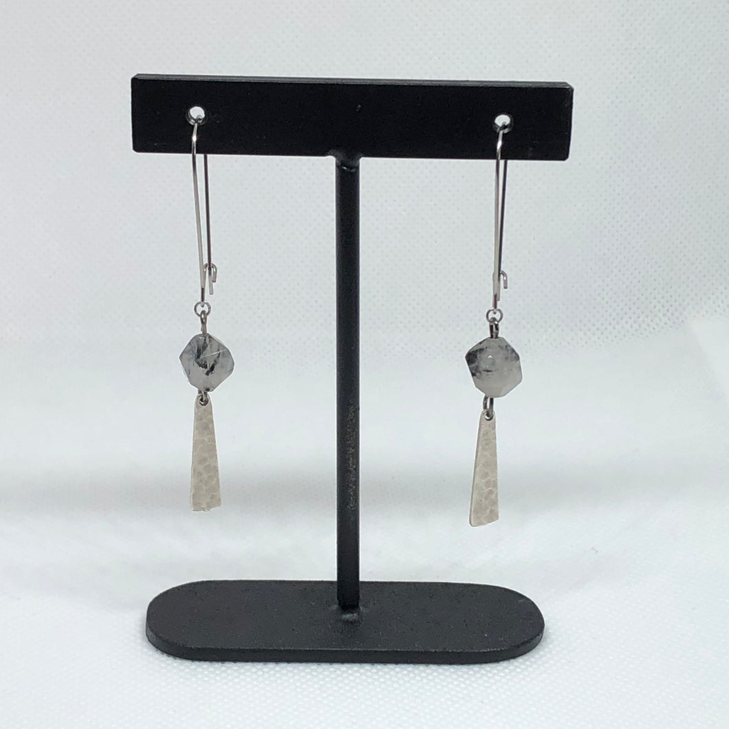 Imagine - Rutilated Quartz Earrings