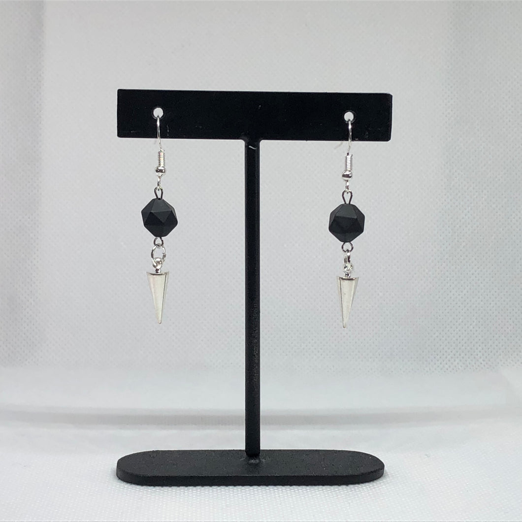 Back To Black - Earrings