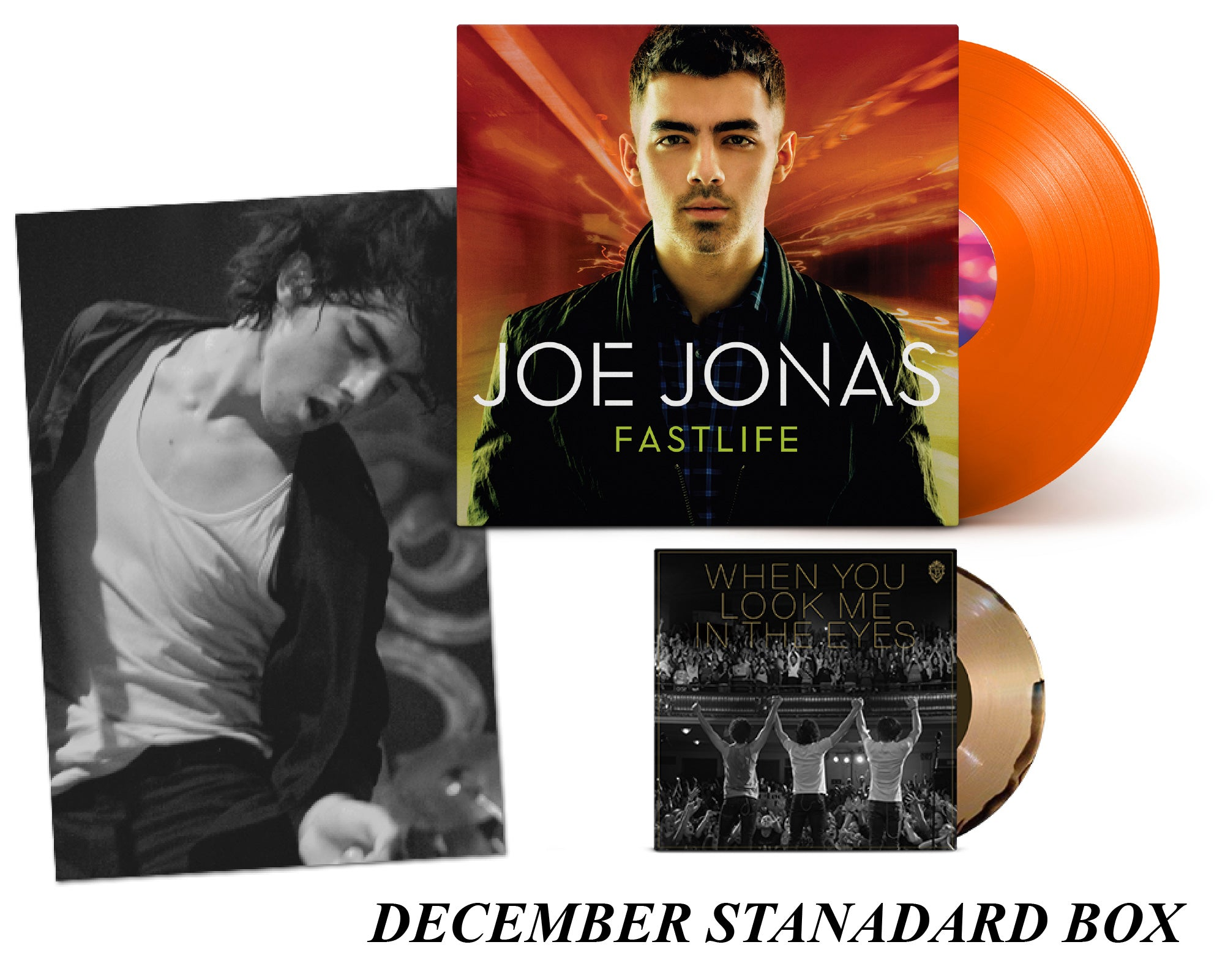 Jonas Vinyl Club - Monthly Membership