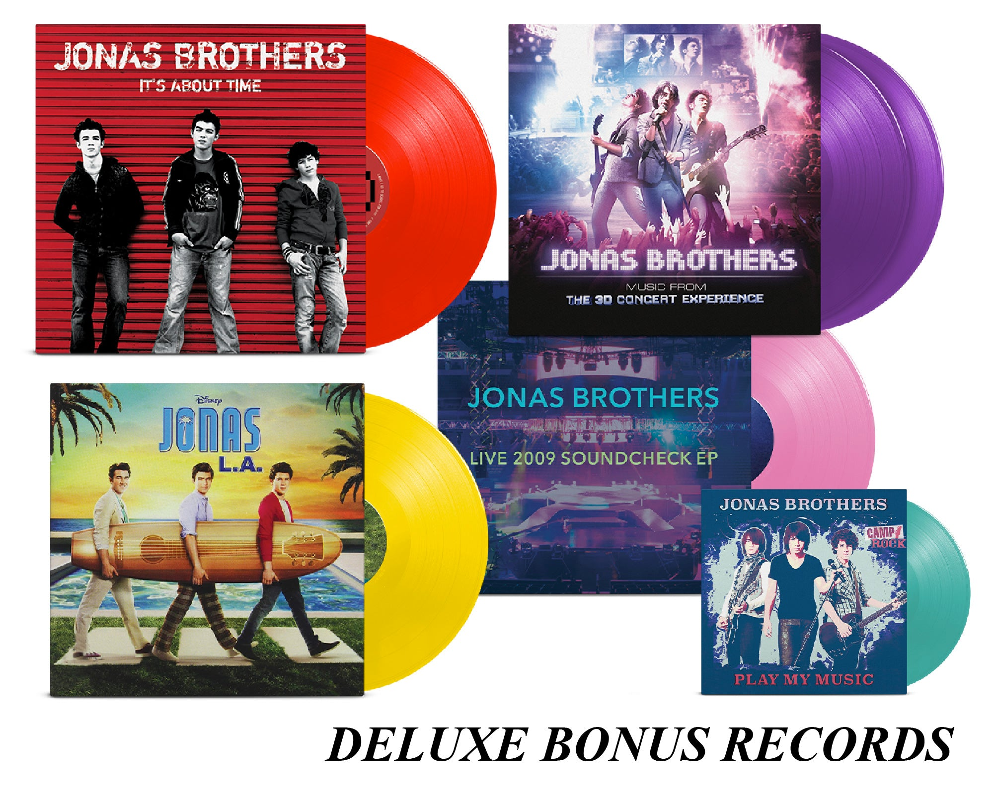 Jonas Vinyl Club - DELUXE Monthly Membership