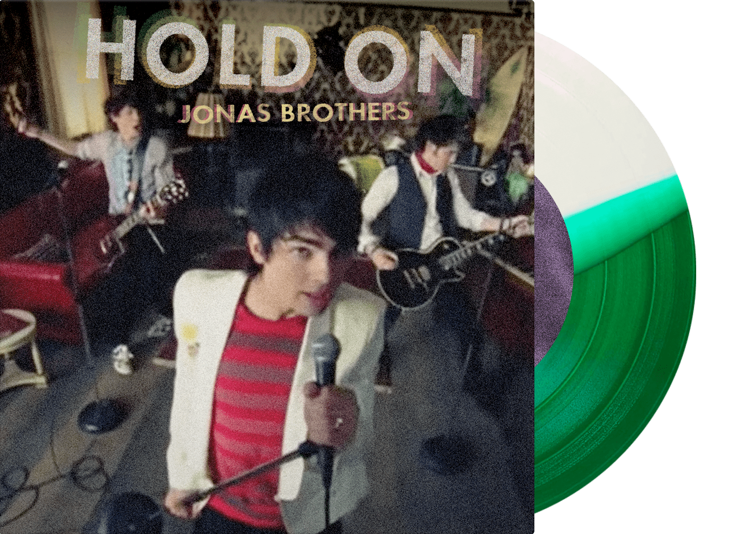 "Jonas Brothers - ""Hold On"" (7"" Single) - JONAS VINYL CLUB"