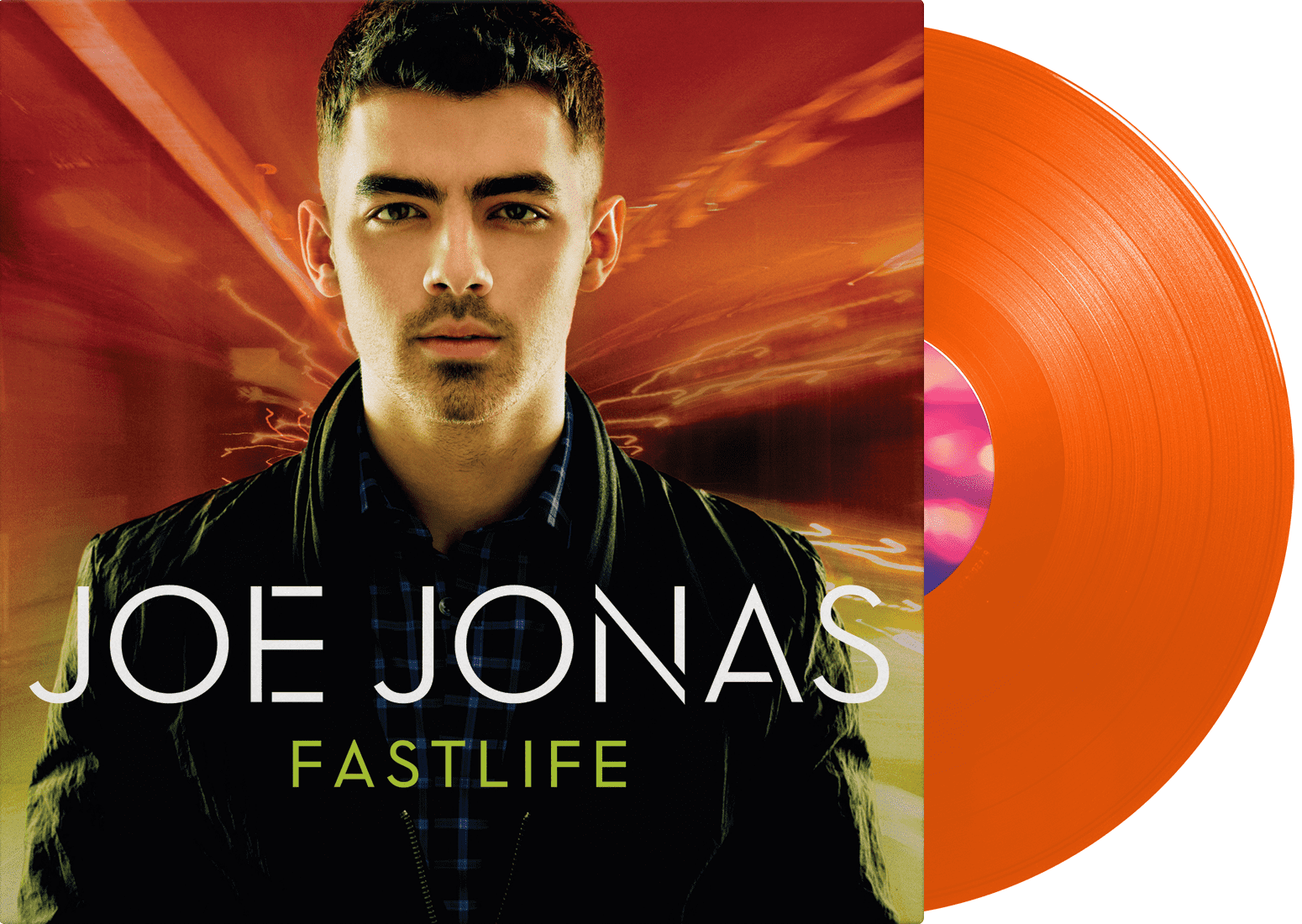 Joe Jonas - FastLife LP - JONAS VINYL CLUB