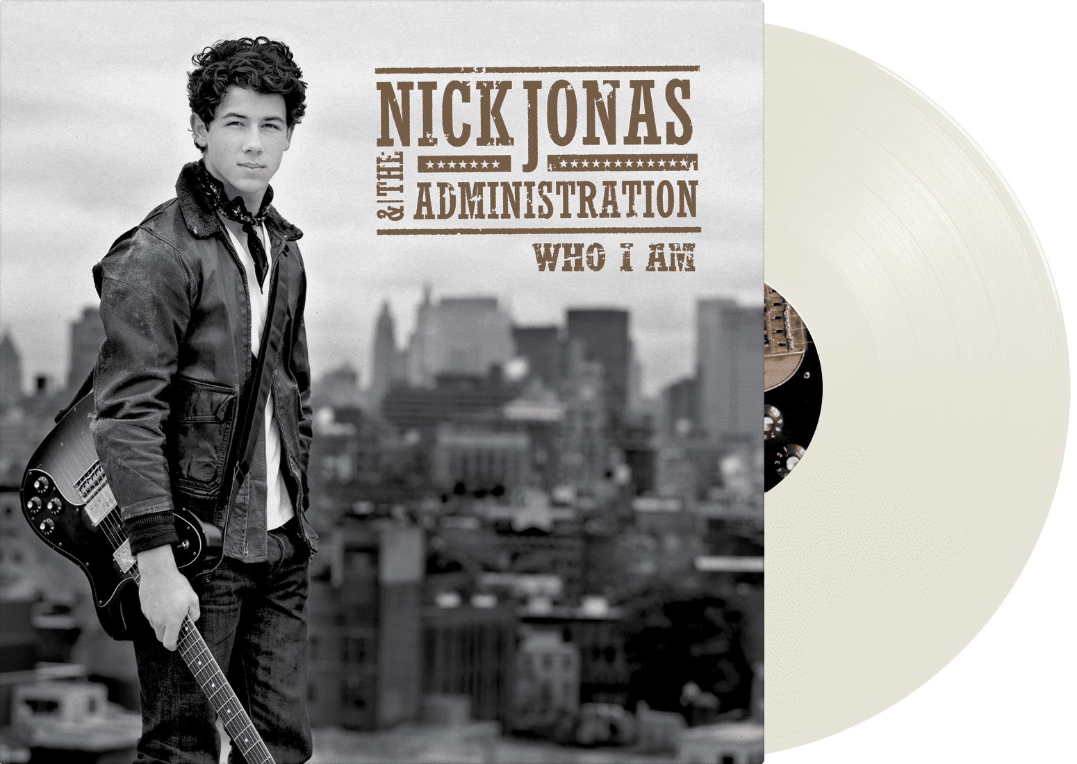 Nick Jonas & The Administration - Who I Am LP - JONAS VINYL CLUB