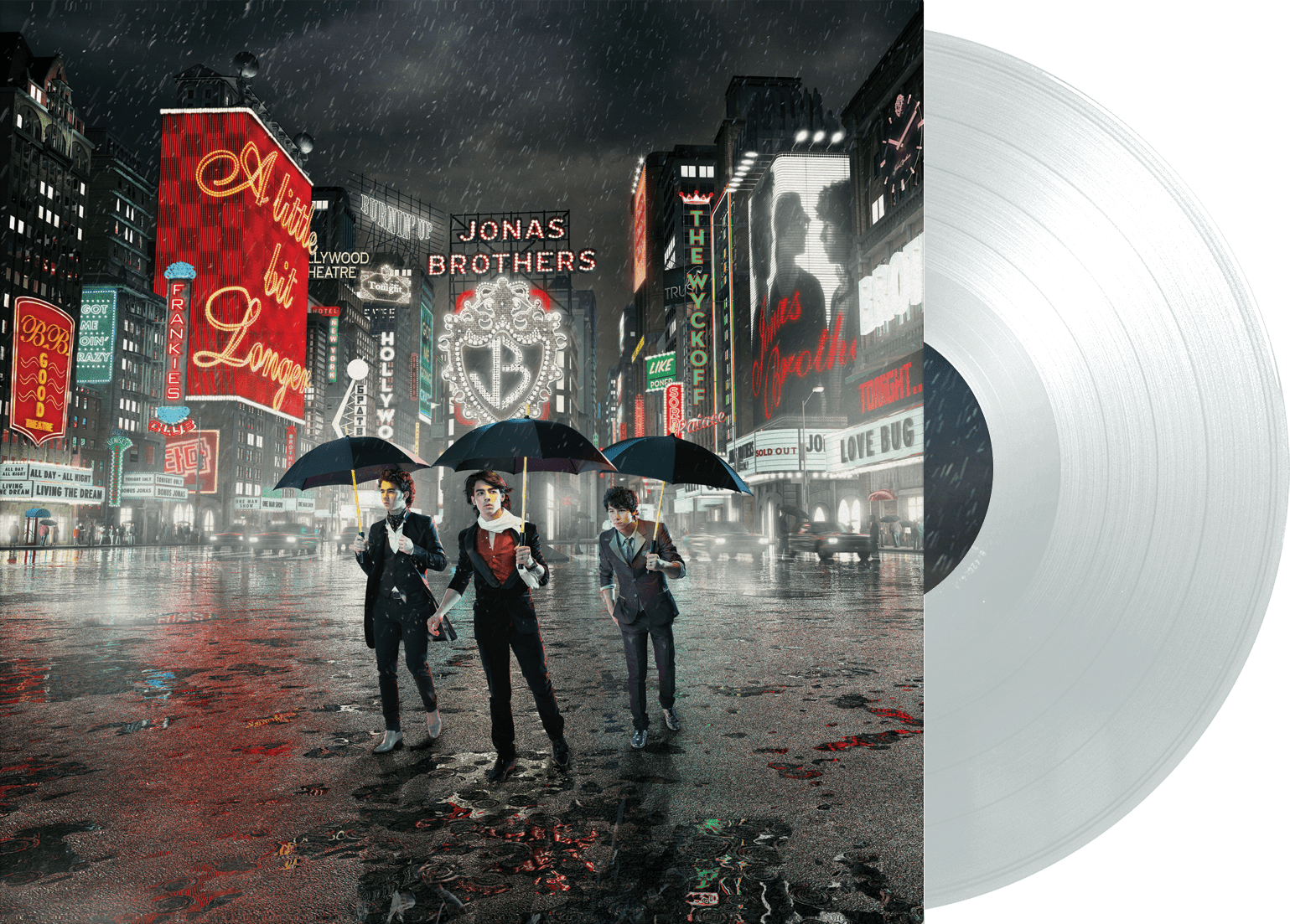 Jonas Brothers - A Little Bit Longer LP (Clear vinyl)