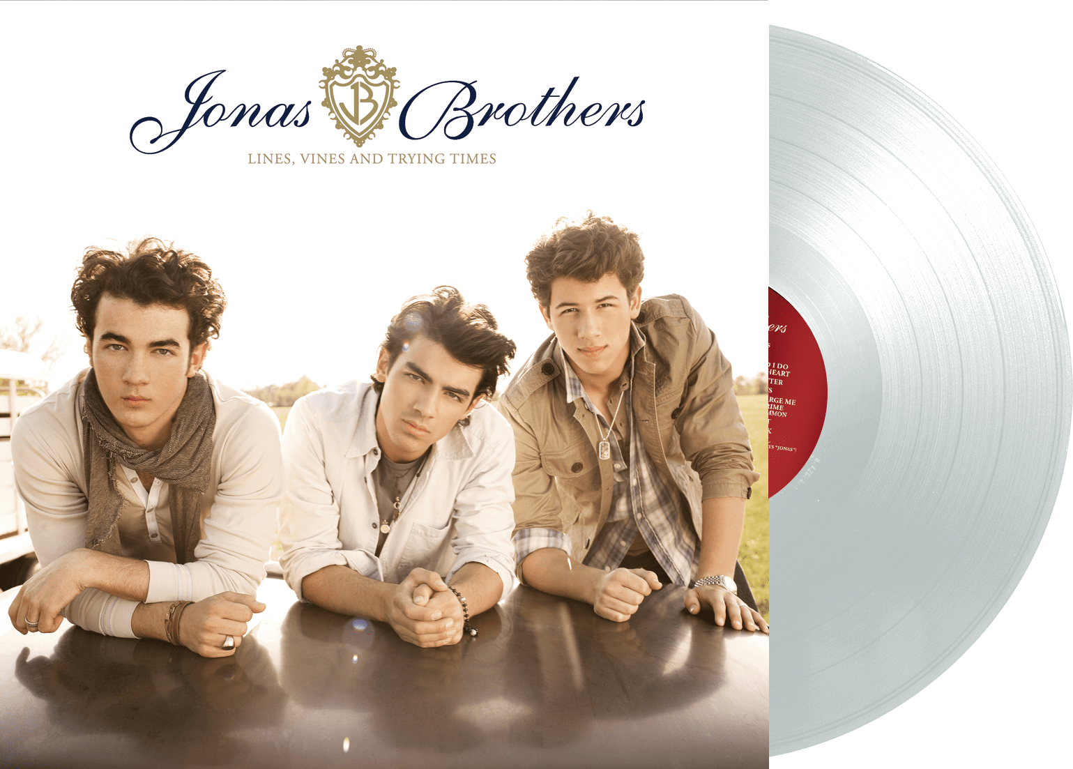 Jonas Brothers - Lines, Vines and Trying Times LP (CLEAR vinyl) - JONAS VINYL CLUB