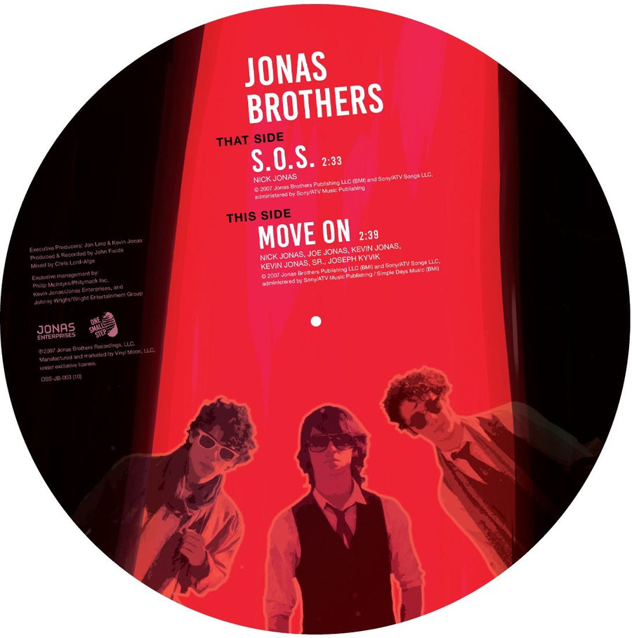 "Jonas Brothers - ""S.O.S."" (10"" Picture Disc) - JONAS VINYL CLUB"