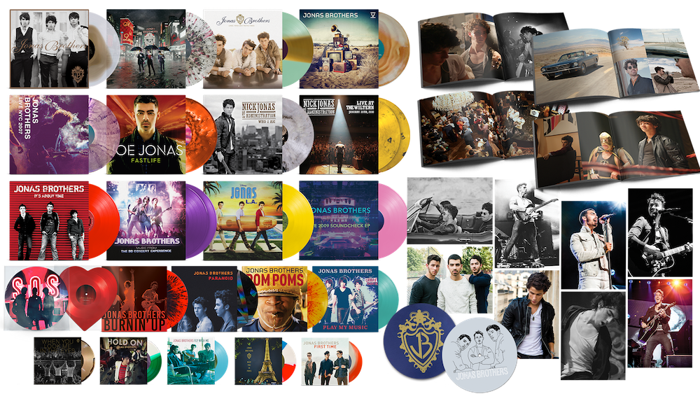 Jonas Vinyl Club - The Complete Deluxe Collection - Payment Plan