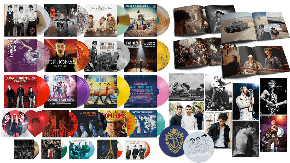 Jonas Vinyl Club - DELUXE Monthly Membership - JONAS VINYL CLUB