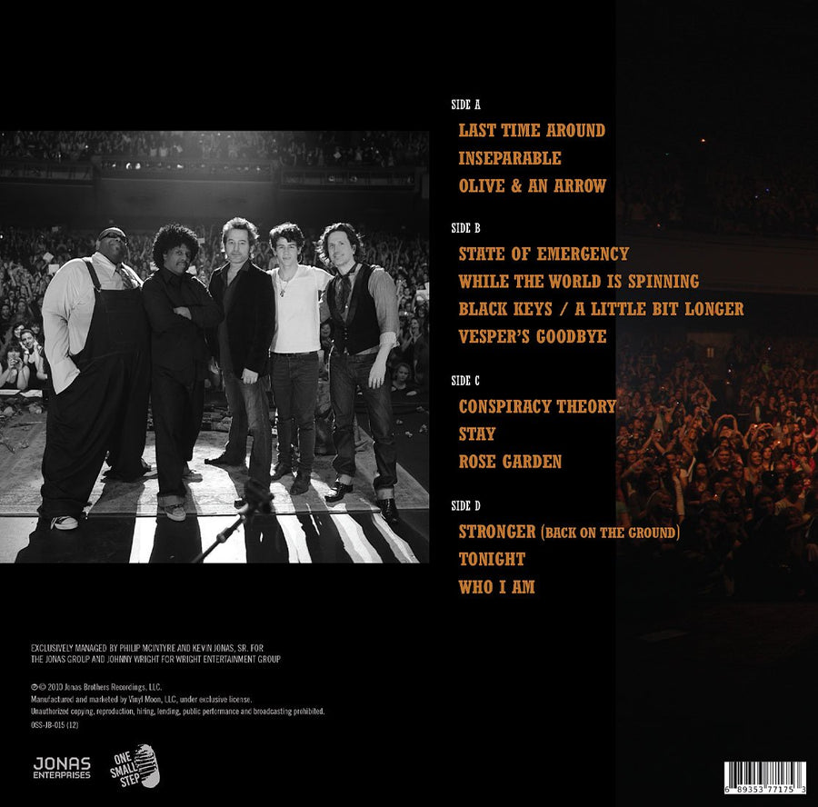 Nick Jonas & The Administration - Live at the Wiltern (Double LP)