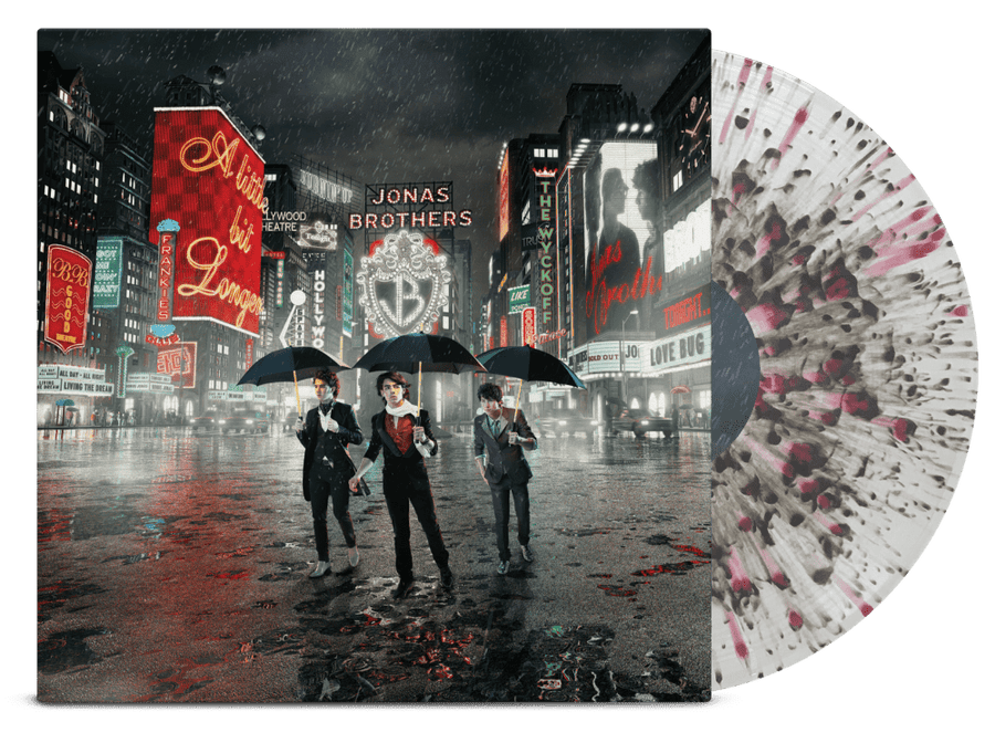 Jonas Brothers - A Little Bit Longer LP (Clear vinyl) - JONAS VINYL CLUB