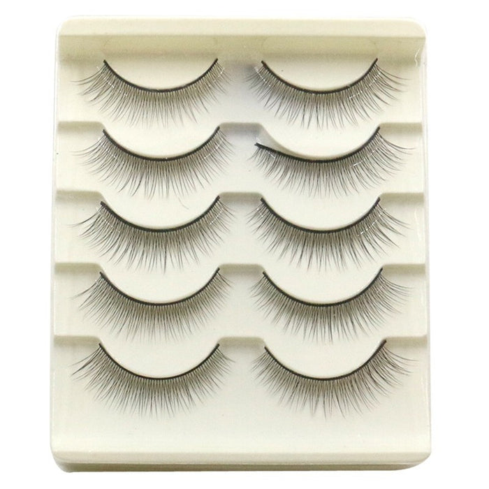 Press & Go® - Self-Adhesive False Eyelashes - Uniform White  Roxee