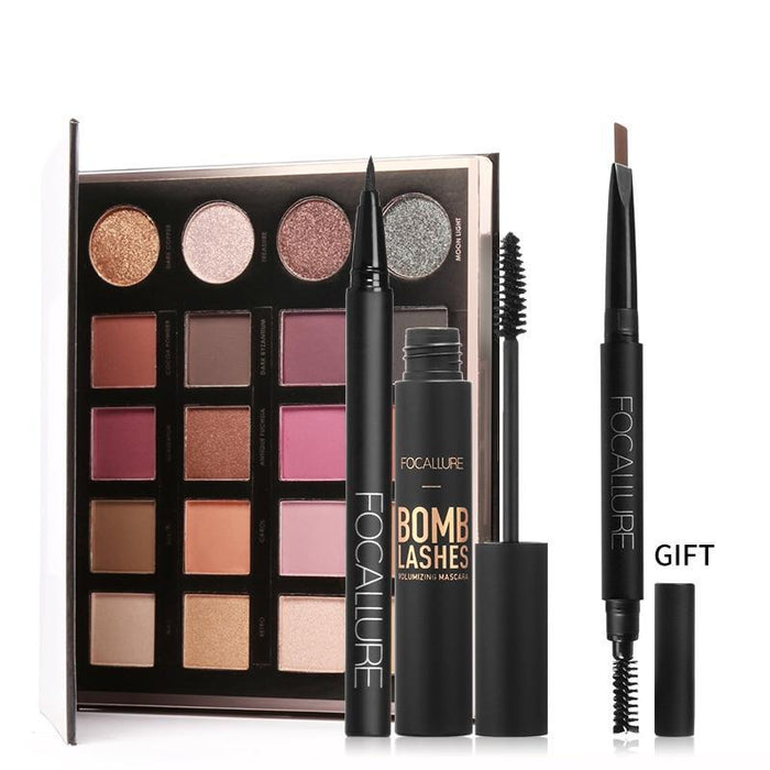 Focallure™ Eye Makeup Set   Roxee