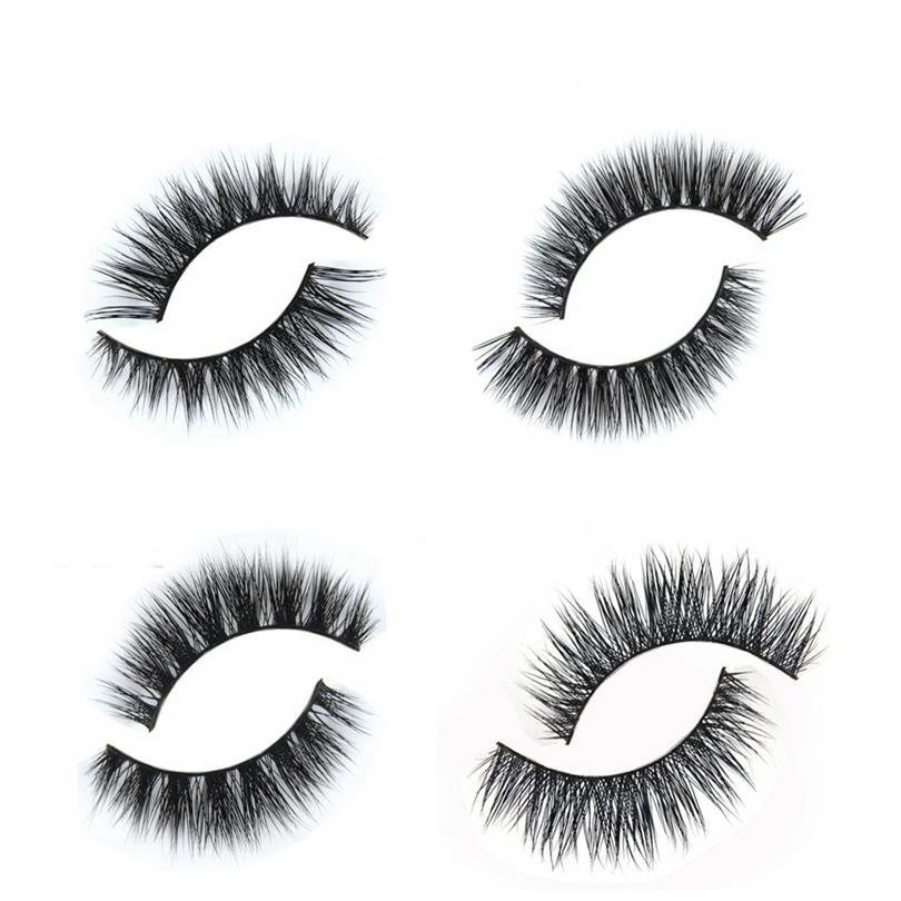 Natural Looking Synthetic Eyelashes | Brainbow™   Roxee