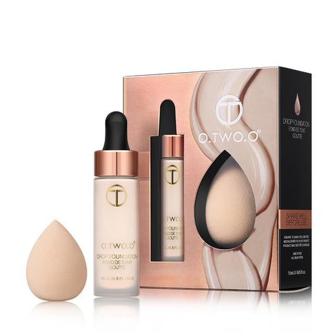 O.TWO.O™ Matte Foundation With Sponge Kit Matte Effect