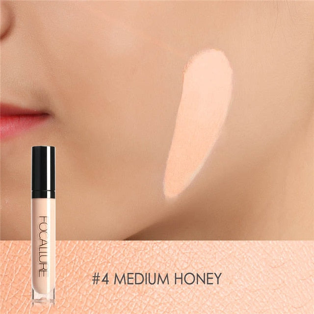 Focallure™ Full Coverage Liquid Concealer | Medium Honey #4 Default Title  Roxee