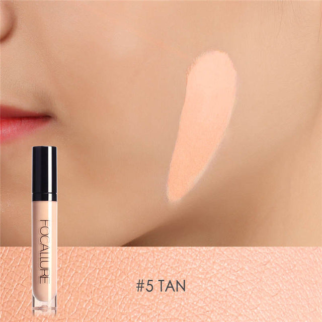 Focallure™ Full Coverage Liquid Concealer | Tan #5 Default Title  Roxee