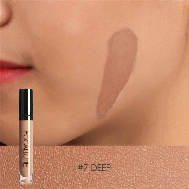 Focallure™ Full Coverage Liquid Concealer | Deep #7 Default Title  Roxee