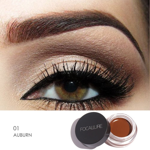 Focallure™ Auburn | Waterproof Eyeliner Cream + Black Brush Default Title  Roxee