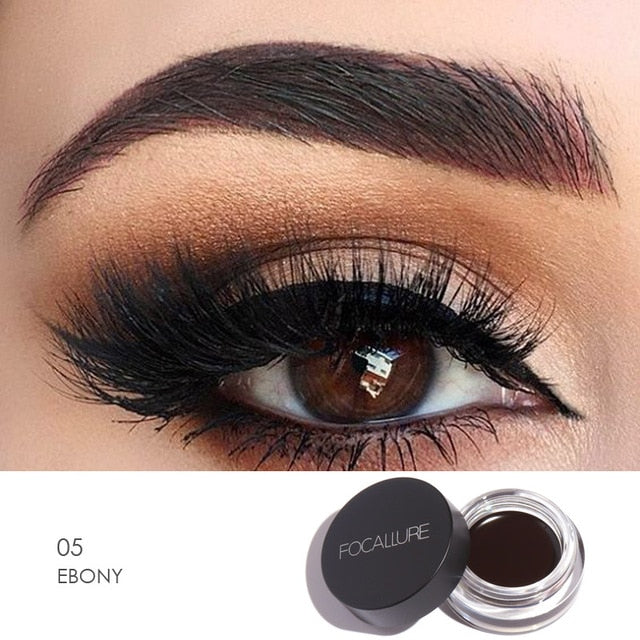 Focallure™ Ebony | Waterproof Eyeliner Cream + Black Brush Default Title  Roxee