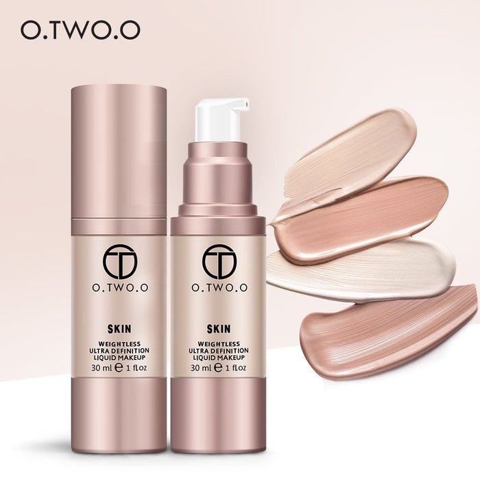 O.TWO.O™ SKIN Weightless Liquid Foundation | Space Sand #04   Roxee