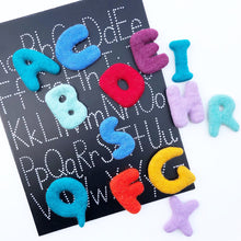 Load image into Gallery viewer, Uppercase Felt ABC set (26 pcs)