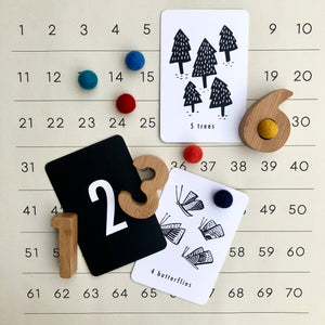 Wee Gallery Collaboration Bamboo Numbers