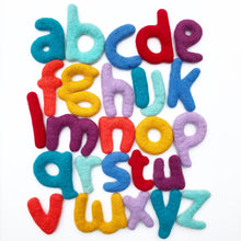 Load image into Gallery viewer, Lowercase Felt ABC set (26 pcs)