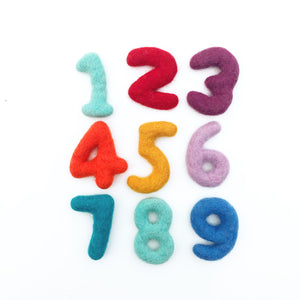 Felt Number Set (11 pcs)