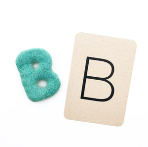 Uppercase Felt ABC set (26 pcs)